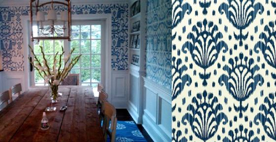 1 Navy Kitchen and 15 Thai Ikat