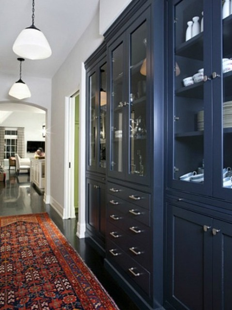 6 Navy Kitchen - SAS Interiors