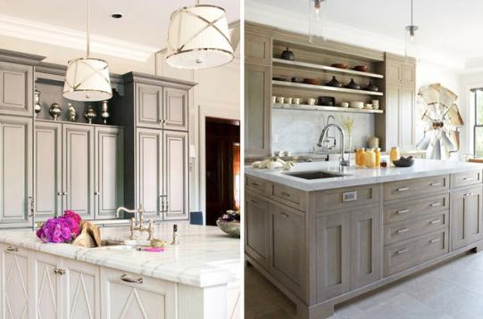 Gray Kitchen - BHG and H&Hc
