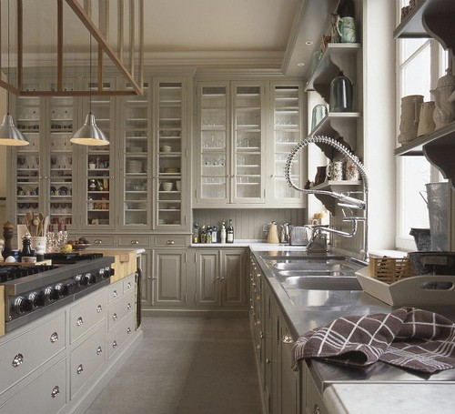 Gray Kitchen - Greige